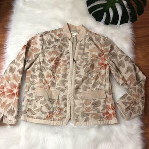 Coldwater Creek Embroidered Blazer